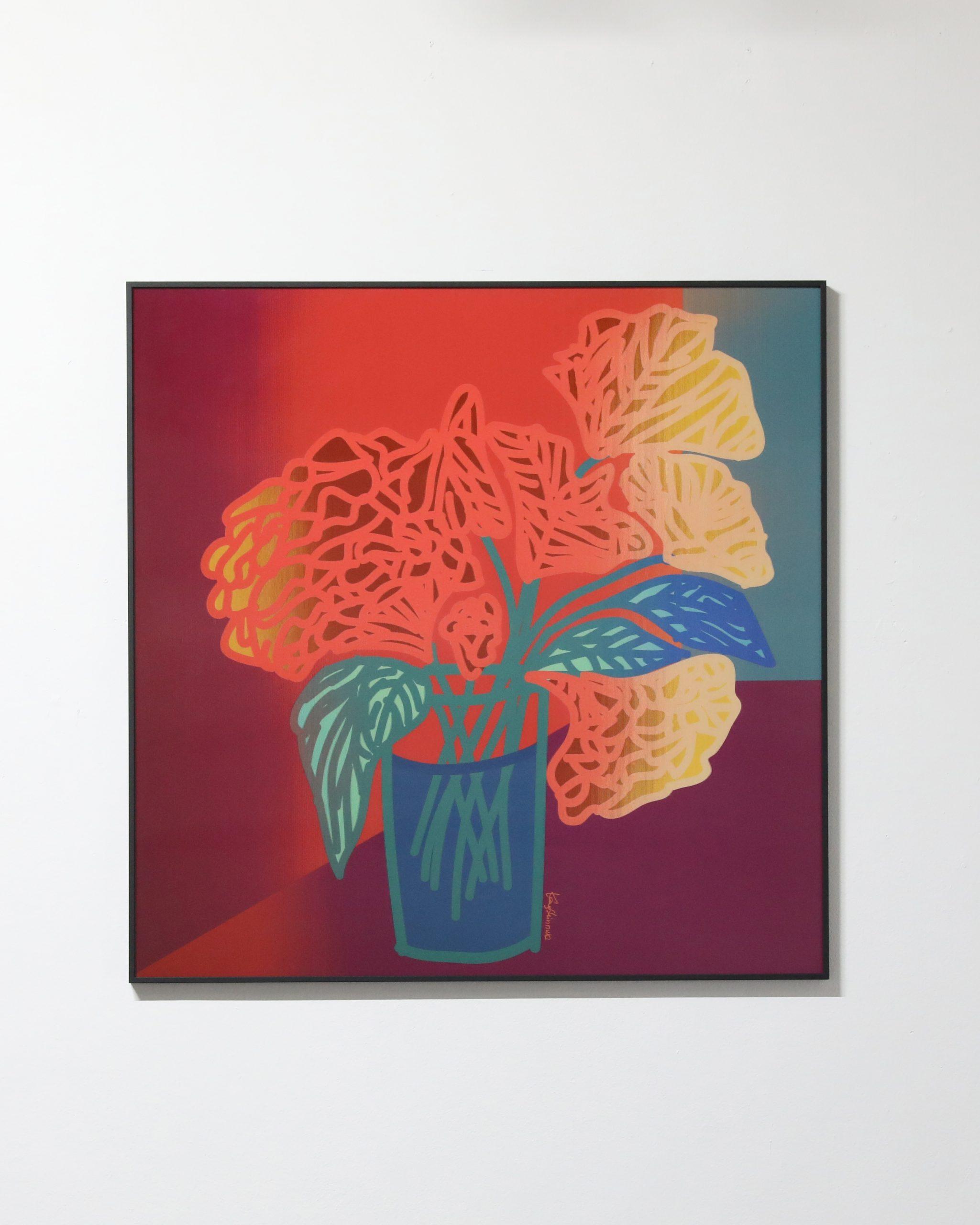 Shinduk Kang Still Life 85 x 85 cm Lenticular